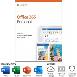 Microsoft Office 365 Personal subscription (12-month)
