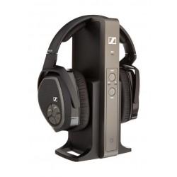 سماعة الرأس الرقمية اللاسلكية من سينهايزر - أسود - RS 175