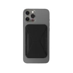 حامل ومحفظة هاتف ايفون 12 سهل التركيب من موفت - أسود