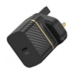 OtterBox UK Wall Charger 18W - 1X USB-C 18W USB-PD - Black