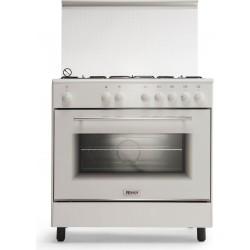 طباخ الغاز القائم من ونسا - ٨٠ × ٥٠ سم - ٥ عيون (WE8050W)