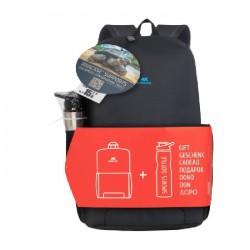 حقيبة للاب توب من ريفا مقاس 15.6 بوصة + زجاجة رياضية