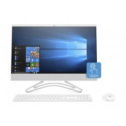 HP Core i5 8GB RAM 1TB HDD + 16GB PCIe 23.8-inch Touchscreen All-in-One Desktop (24-F0022NE) - White