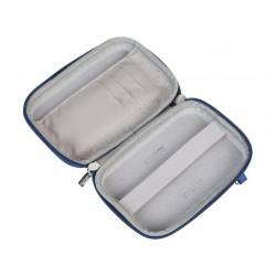 حقيبة حماية صلبة لأقراص التخزين المحمولة من ريفا – ٢.٥ بوصة – أزرق فاتح (9101)