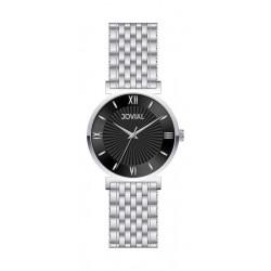 ساعة جوفيال النسائية التناظرية - سوار معدني (9163-LSMQ-03) - فضي