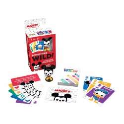 Funko Pop Something Wild Card Game Mickey & Friend