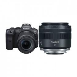 Buy Canon EOS R6 Mirrorless Digital Camera + 24-105MM Lens + RF 35mm f/1.8 IS Macro STM Lens in Kuwait | Buy Online – Xcite