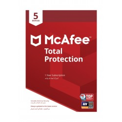 برنامج مكافي للحماية المتكاملة 2019 - (5 أجهزة)