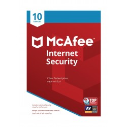 برنامج مكافي للحماية من الإنترنت 2019 - (10 أجهزة)