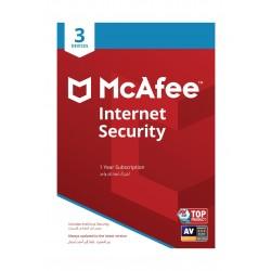 برنامج مكافي للحماية من الإنترنت 2019 - (3 أجهزة)