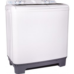 Wansa Gold 10Kg Twin Tub Washing Machine (WGTT10) - White