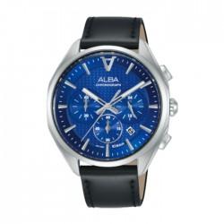 ساعة كرونوغراف حجم 42 ملم للرجال من ألبا (AT3G87X1)