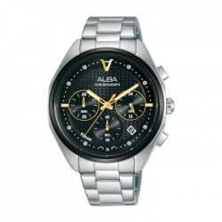 Alba 38mm Women's Chrono Watch (AT3G89X1) in Kuwait | Buy Online – Xcite