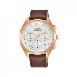 Alba 38mm Women's Chrono Watch (AT3G96X1) in Kuwait | Buy Online – Xcite