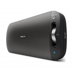 مكبر صوت محمول بتقنية البلوتوث من فيلبس - أسود - BT3600B/00