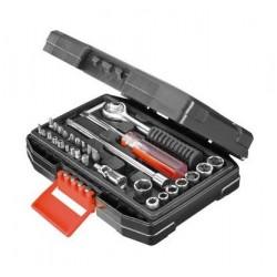 عدة أدوات صيانة السيارة ٣١ حبة من بلاك آند ديكر - (A7142-XJ)