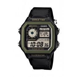 Casio 42mm Digital Nylon Sports Watch - (AE-1200WHB-1BVDF)