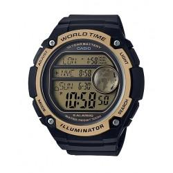 Casio Illuminator 54mm Gent's Rubber Sports Watch - (AE-3000W-9AVDF)