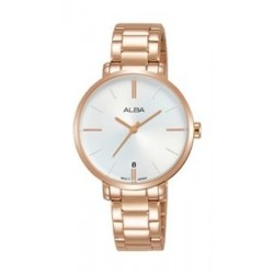 Alba Quartz 32mm Analog Ladies Metal Watch - AG8J58X1