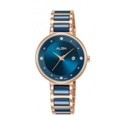 Alba 30mm Analog Ladies Metal Fashion Watch - AH7R86X1