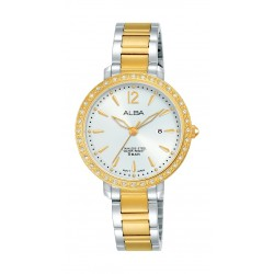 Alba 30mm Ladies Analog Fashion Metal Watch - (AH7S06X1)