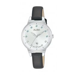 Alba 30mm Ladies Analog Fashion Leather Watch - (AH7U55X1)