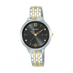 Alba 32mm Ladies Metal Analog Fashion Watch - AH7W11X1