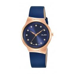 Alba 30mm Ladies Analog Fashion Leather Watch - (AH8622X1)