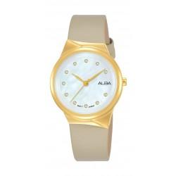 Alba 30mm Ladies Analog Fashion Leather Watch - (AH8624X1)