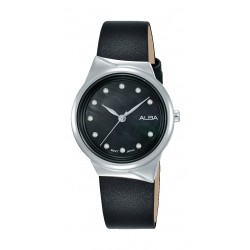 Alba 30mm Ladies Analog Fashion Leather Watch - (AH8625X1)