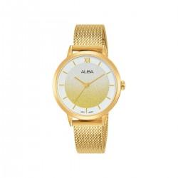 ساعة ألبا أنالوج معدنية 32مم نسائية (AH8628X1)  - ذهبي