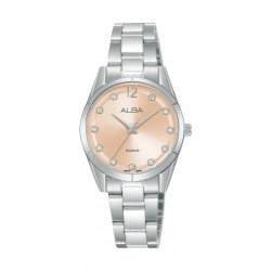 Alba 28mm Ladies Analog Metal Fashion Watch - AH8745X1