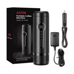 Aicok Portable Espresso Maker - Black