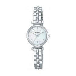 Alba 21mm Ladies Metal Analog Watch (AK3029X1) - Silver
