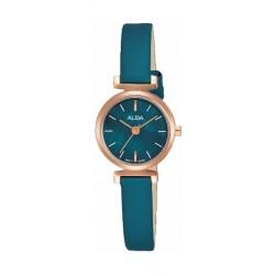 Alba 21mm Ladies Leather Analog Watch (AK3030X1) - Torquoise