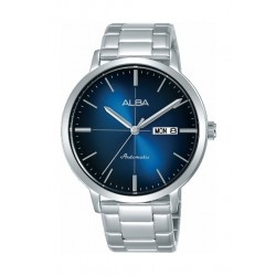 Alba Automatic 42mm  Analog Gent's Metal Watch (AL4123X1) - Silver