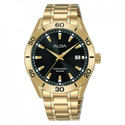 Alba 40mm Men's Analog Watch  Stainless steel case mineral crystal