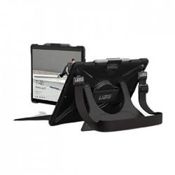 غطاء لجهاز مايكروسوفت سيرفيس برو إكس من يو ايه جي بلازما مع حزام لليد و حزاف للكتف – أسود