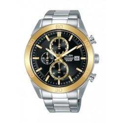 Alba Quartz 44mm Chronograph Gent's Metal Watch - AM3620X1