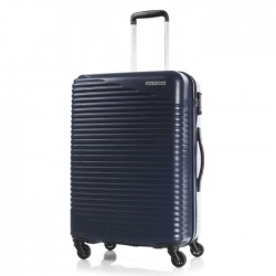 american tourister blue hard travel bag luggage cheap buy in xcite kuwait