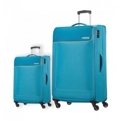 d3678634f American Tourister Jamaica Trolley Set of 2 (27OX08005) - Grey · حقائب سفر  ...
