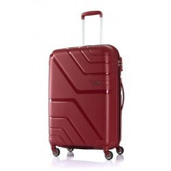 American Tourister Spinner 55/20 Hard Luggage - Red