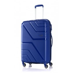 American Tourister Spinner 79/29 Hard Luggage - Blue