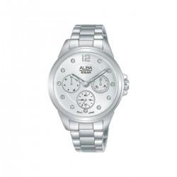 ساعة ألبا 36 ملم أنالوج للسيدات (AP6633X1) - فضي