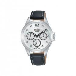 ساعة ألبا انالوج جلدية للسيدات 36 مم (AP6639X1) -  أسود