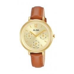 Alba 30mm Ladies Analog Fashion Leather Watch - (AP6656X1)
