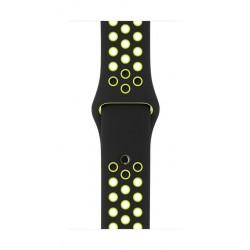 Apple Nike Sport Band For 42mm Watch Case (MQ2Q2ZM/A) - Black/Volt