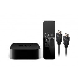 Apple TV 4K 64GB + EQ 4K HDMI Cable 1.5M - Black