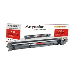 AnyColor 17X Black Toner Printer Cartridge - AR-CF217XL