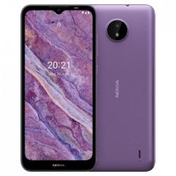 هاتف نوكيا سي 10 سعة 32 جيجابايت ثنائي الشريحة - بنفسجي